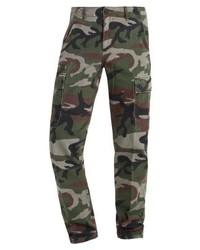 Pantalón cargo de camuflaje verde oscuro de Ralph Lauren