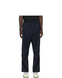 Pantalón cargo de lana azul marino de Y-3