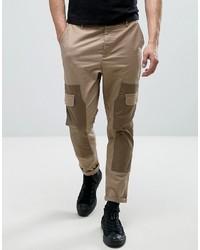 Pantalón cargo en beige de Asos