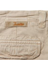 Pantalón cargo en beige de Incotex