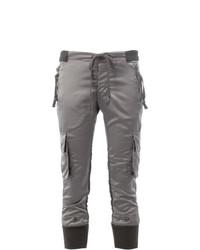 Pantalón cargo gris de Greg Lauren