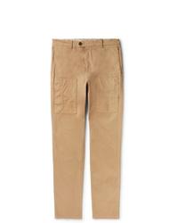 Pantalón cargo marrón claro de Brunello Cucinelli