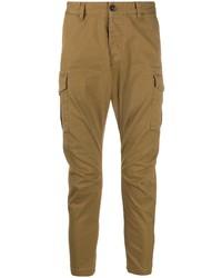 Pantalón cargo marrón claro de DSQUARED2