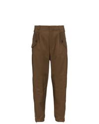 Pantalón cargo marrón de Chloé