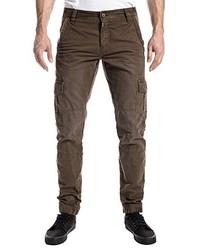 Pantalón cargo marrón de Timezone