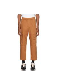 Pantalón cargo naranja de Kenzo