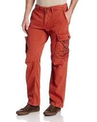 Pantalón cargo rojo