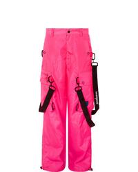 Como Combinar Un Pantalon Cargo Rosa 2 Outfits Lookastic Espana