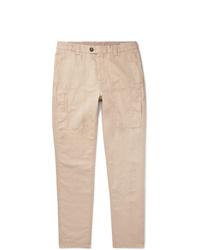 Pantalón cargo rosado de Brunello Cucinelli