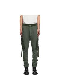 Pantalón cargo verde oliva de Amiri