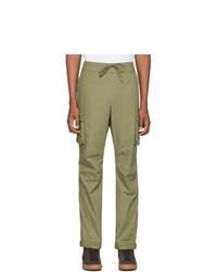 Pantalón cargo verde oliva de John Elliott