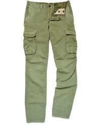 Pantalón cargo verde de Incotex