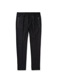 Pantalón chino a cuadros en gris oscuro de Stella McCartney