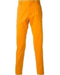 Pantalón chino amarillo de DSquared