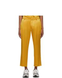 Pantalón chino amarillo de Sies Marjan