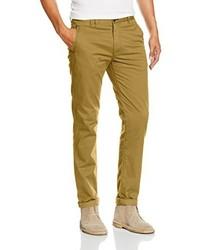 Pantalón chino amarillo de SPRINGFIELD