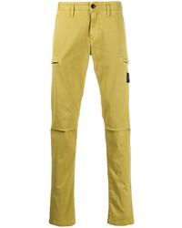 Pantalón chino amarillo de Stone Island