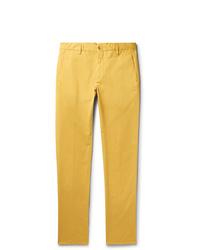 Pantalón chino amarillo de Zanella