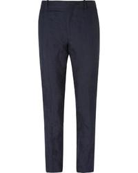 Pantalón Chino Azul Marino de Alexander McQueen