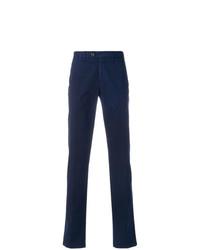 Pantalón chino azul marino de Canali