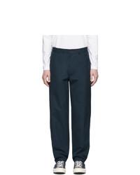 Pantalón chino azul marino de Comme Des Garcons SHIRT