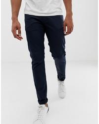 Pantalón chino azul marino de Emporio Armani