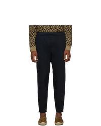 Pantalón chino azul marino de Gucci