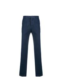 Pantalón chino azul marino de Kiton