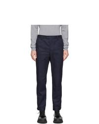 Pantalón chino azul marino de Lanvin