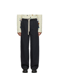 Pantalón chino azul marino de Loewe