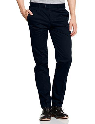 Pantalón chino azul marino de Merc of London