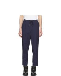 Pantalón chino azul marino de Moncler