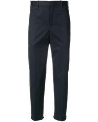 Pantalón chino azul marino de Neil Barrett