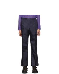 Pantalón chino azul marino de Prada