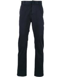 Pantalón Chino Azul Marino de Saint Laurent