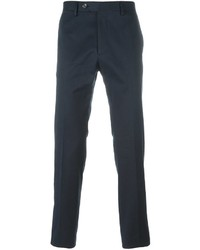 Pantalón chino azul marino de Salvatore Ferragamo