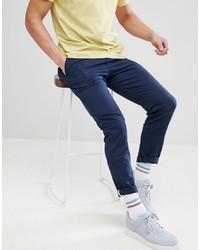 Pantalón chino azul marino de YOURTURN