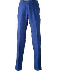 Pantalón chino azul de Ermenegildo Zegna