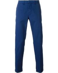 Pantalón chino azul de Fay