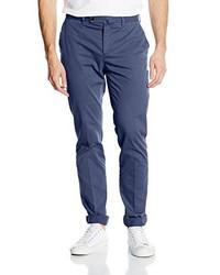 Pantalón chino azul de Hackett London