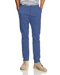 Pantalón chino azul de Scotch & Soda