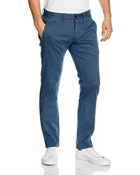 Pantalón chino azul de Tommy Hiliger