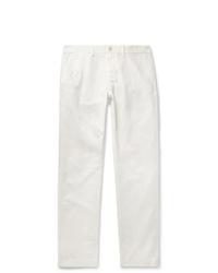 Pantalón chino blanco de Alex Mill