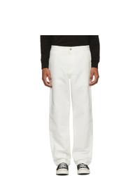 Pantalón chino blanco de CARHARTT WORK IN PROGRESS