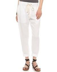 Pantalón chino blanco de Enza Costa
