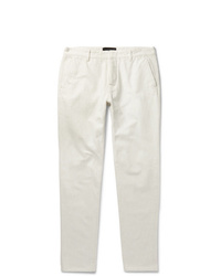 Pantalón chino blanco de Ermenegildo Zegna