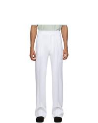 Pantalón chino blanco de Random Identities