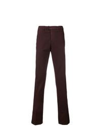 Pantalón chino burdeos de Canali