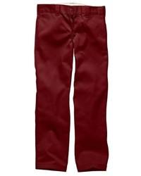Pantalón chino burdeos de Dickies