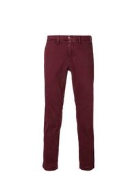 Pantalón chino burdeos de Jacob Cohen